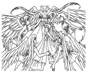 Printable Sailor Angels Coloring Page coloring pages