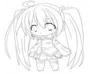 Printable chibi anime girl s to print 6204 coloring pages