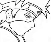 Printable Anime manga naruto coloring pages