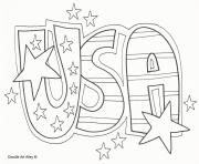 usa celebration 4th july coloring pages