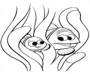 Printable look out finding nemo coloring pages