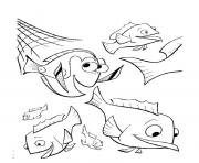 the net breaks finding nemo coloring pages