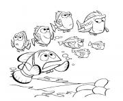 Printable no body want to talk with him finding nemo coloring pages