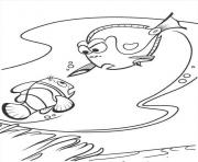Printable stopping nemo finding nemo coloring pages