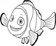 Finding Nemo Nemo coloring pages