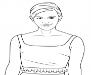 emma watson celebrity coloring pages