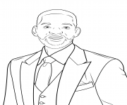 will smith celebrity coloring pages