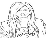 avril lavigne celebrity coloring pages
