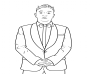 psy celebrity coloring pages