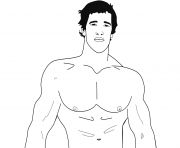 Arnold Schwarzenegger Celebrity Coloring Pages Printable