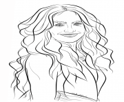 jennifer lopez celebrity coloring pages