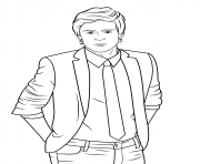zac efron celebrity coloring pages