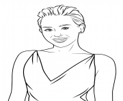 miley cyrus celebrity coloring pages