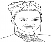 katy perry celebrity coloring pages