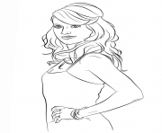 carrie underwood celebrity coloring pages