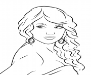 taylor swift coloring pages