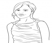 ellen page celebrity coloring pages