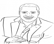 larry elder celebrity coloring pages