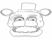 fnaf freddy portrait