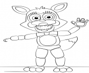 mangle from five nights at freddys