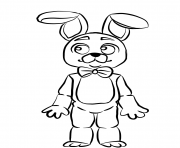 fnaf bonnie coloring pages
