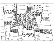Printable adult zentangle by cathym 25 coloring pages