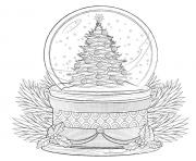 christmas cake tree swno merry christmas adult coloring pages