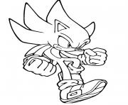 Printable captivating classic sonic coloring pages