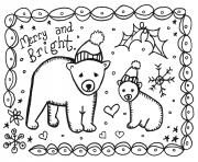 Printable christmas holiday card coloring pages