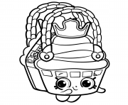 Printable Cute Shopkins Season 8 coloring pages