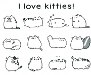 PUSHEEN Coloring Pages Color Online