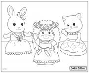 calico critters dance party time