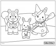 calico critters halloween costumes