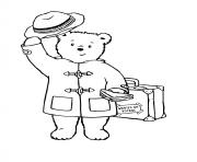 paddington greets the audience coloring pages