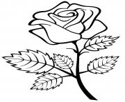 Printable Beautiful Roses for Valentines day coloring pages