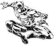 Black Panther by CarlosGomezArtist coloring pages