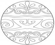 pysanka ukrainian easter egg 2 coloring pages