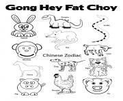 new year chinese animal zodiac 2