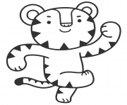 Printable Soohorang olympic games coloring pages