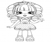 Rainbow Kate Shopkins Dolls coloring pages