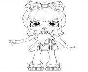 cocolette shopkins doll coloring pages