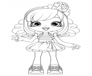 Shoppies Popette coloring pages