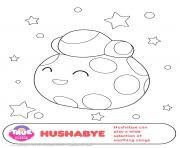 Hushabye 1 true and the rainbow kingdom coloring pages