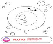 Printable Floto 1 true and the rainbow kingdom coloring pages