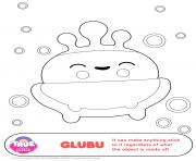 GluBu 1 true and the rainbow kingdom coloring pages