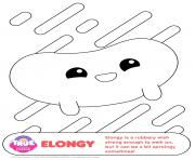 Elongy 1 true and the rainbow kingdom coloring pages