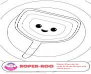 Printable Roper Roo 1 true and the rainbow kingdom coloring pages