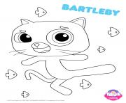 Printable Bartleby 1 true and the rainbow kingdom coloring pages