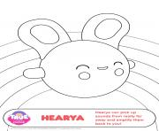 Printable hearya 2 1 true and the rainbow kingdom coloring pages