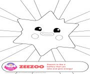 zeezoo 1 true and the rainbow kingdom coloring pages
